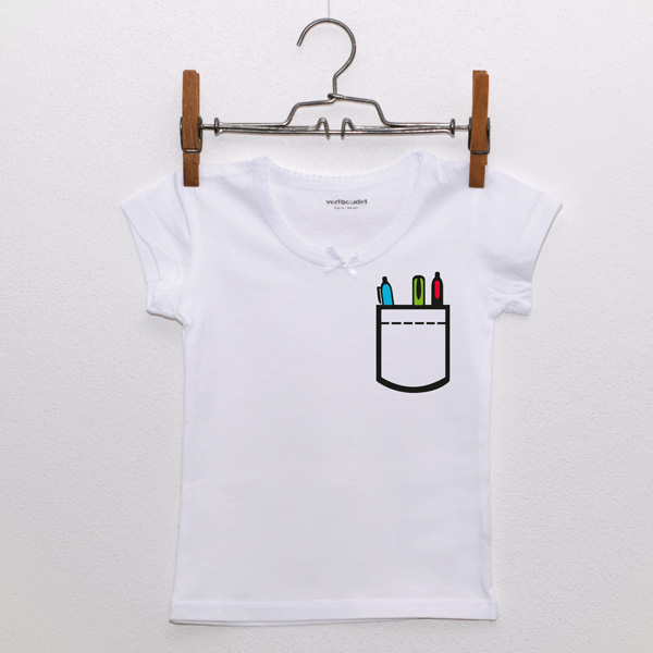 f2bcc931a3f20 Vrecko (dievčenské tričko) - Lumpik - nielen detské oblečenie s potlačou